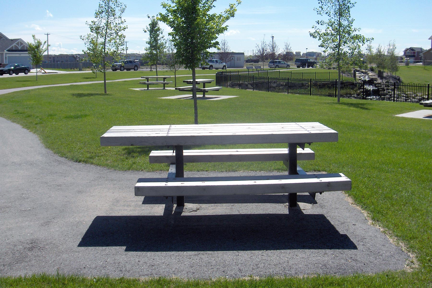 Series A Picnic Tables Custom Park Amp Leisure