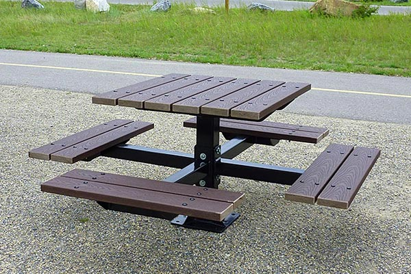 CPL Picnic Tables – Series CR (recycled plastic)