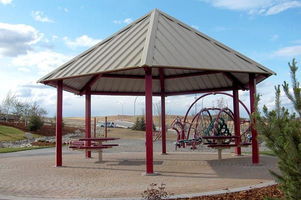 Maranda Series Steel Gazebo 24 feet