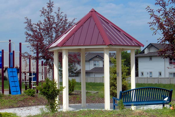 Maranda Series Steel Gazebo 14 feet