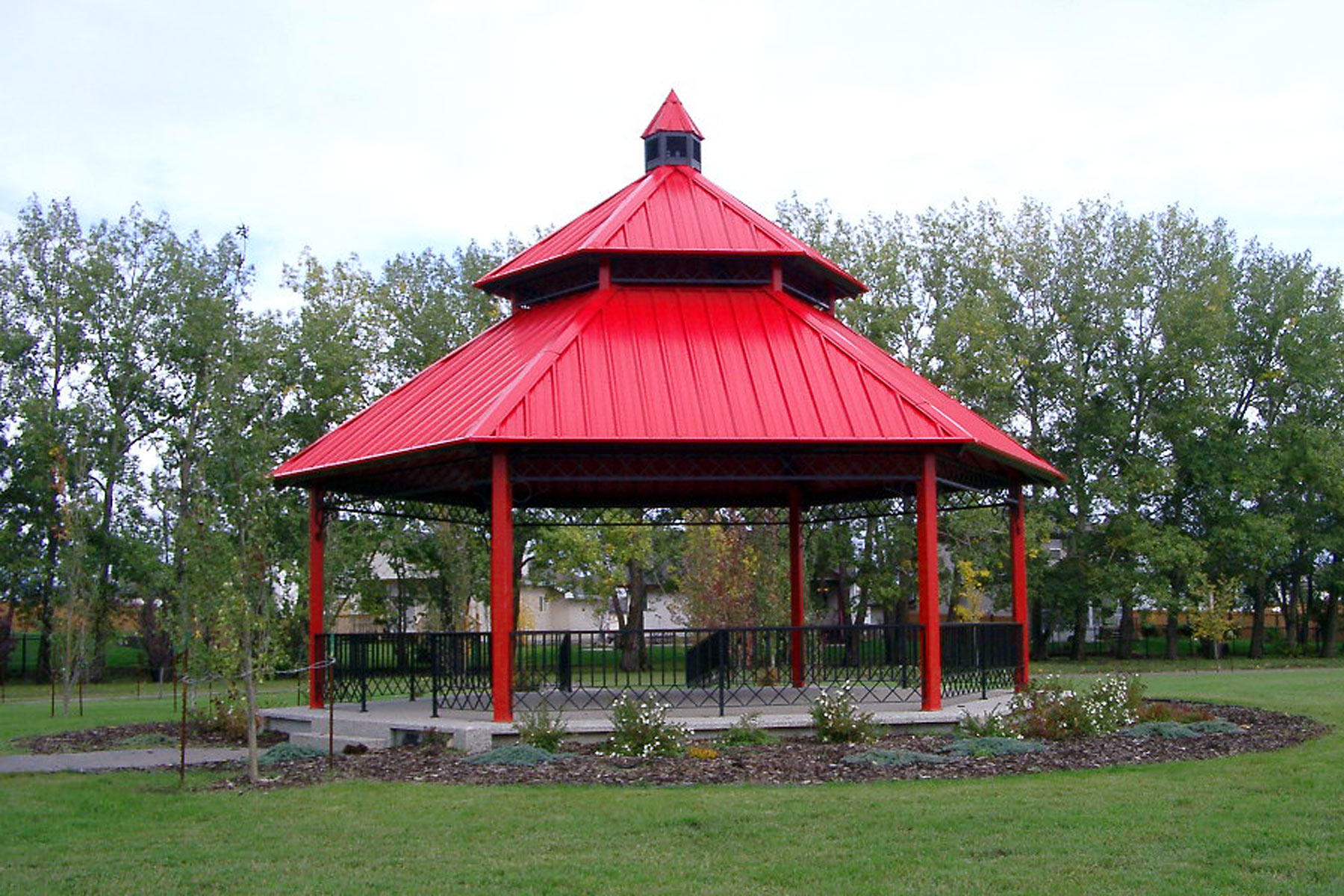 Steel Gazebos Rivercrest Series Custom Park Amp Leisure