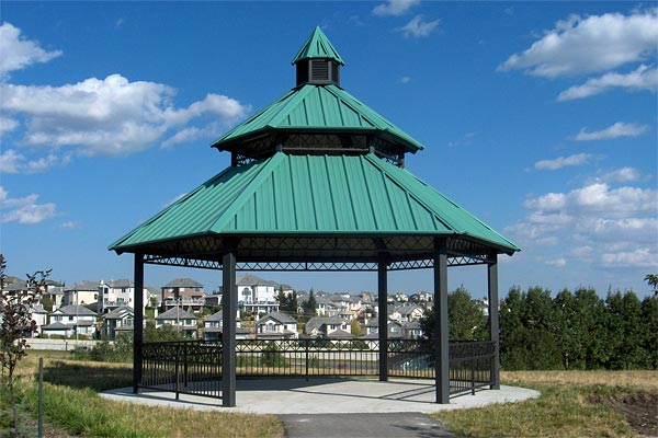 Rivercrest Series Steel Gazebos