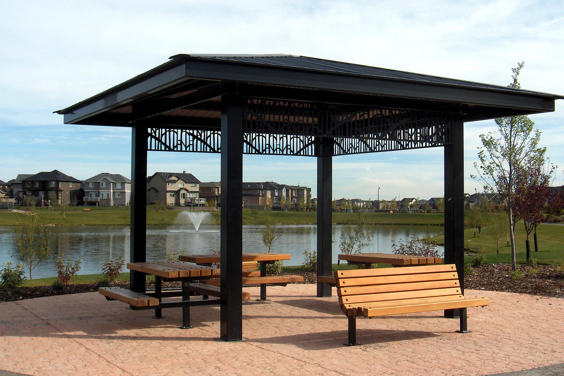 Steel Gazebos Vardell Series Custom Park Leisure