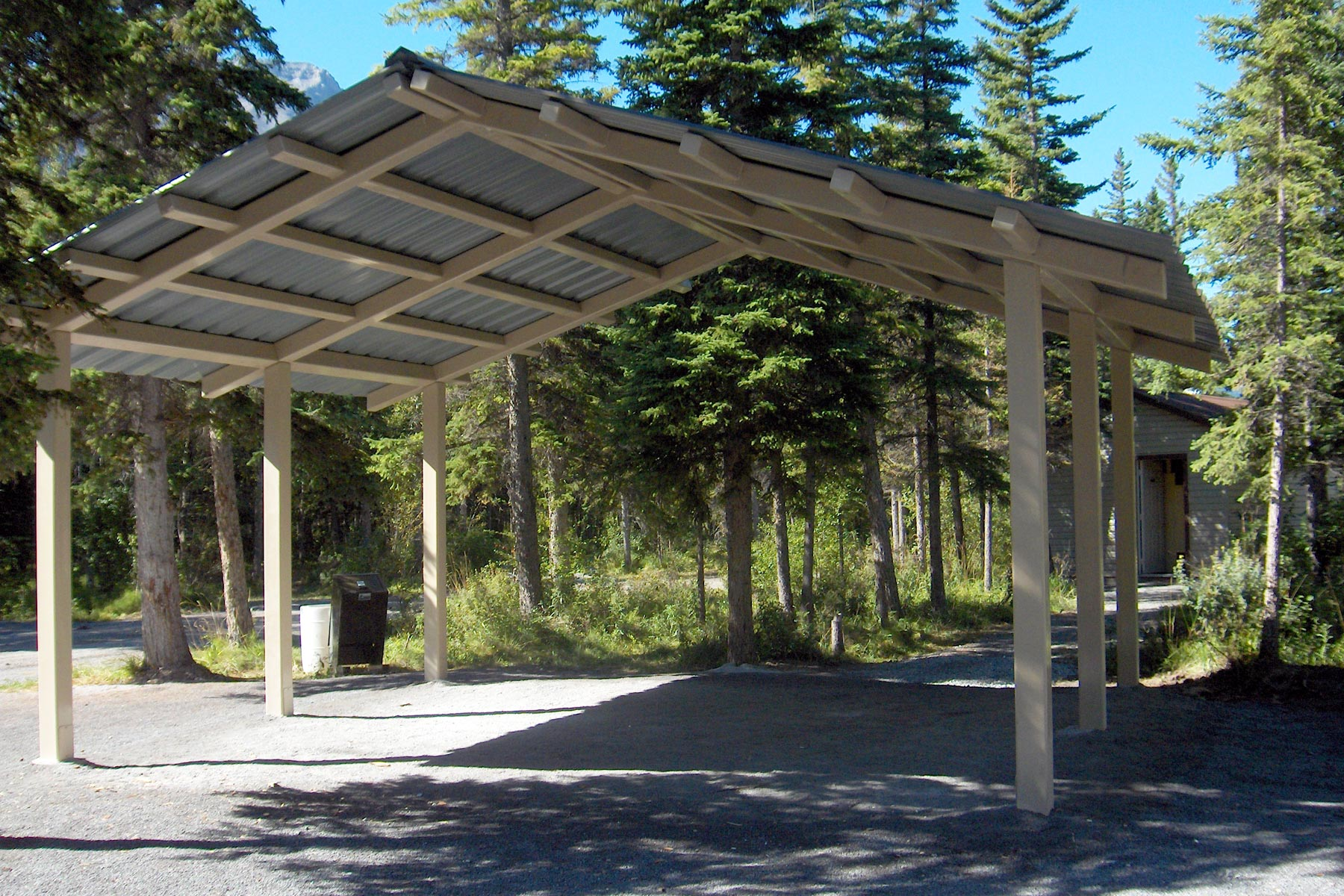 Steel Picnic Shelters Custom Park Amp Leisure
